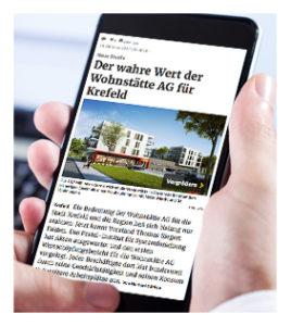 Wohnstätte Krefeld AG Artikel