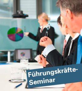 Führungskräft-Seminar Flyer